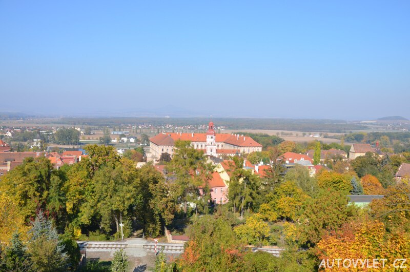 Město Roudnice a zdejší zámek