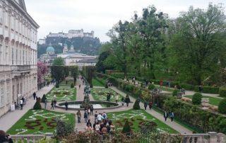 město salzburg rakousko 1