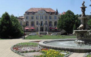 Město Teplice lázeňská sezona