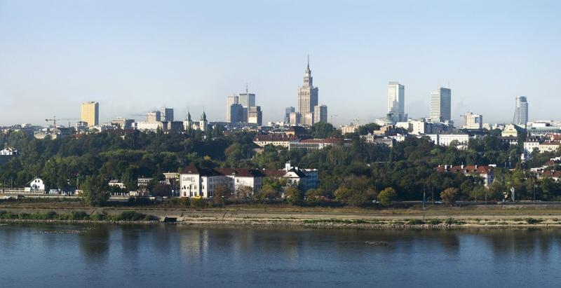 Město Varšava Polsko