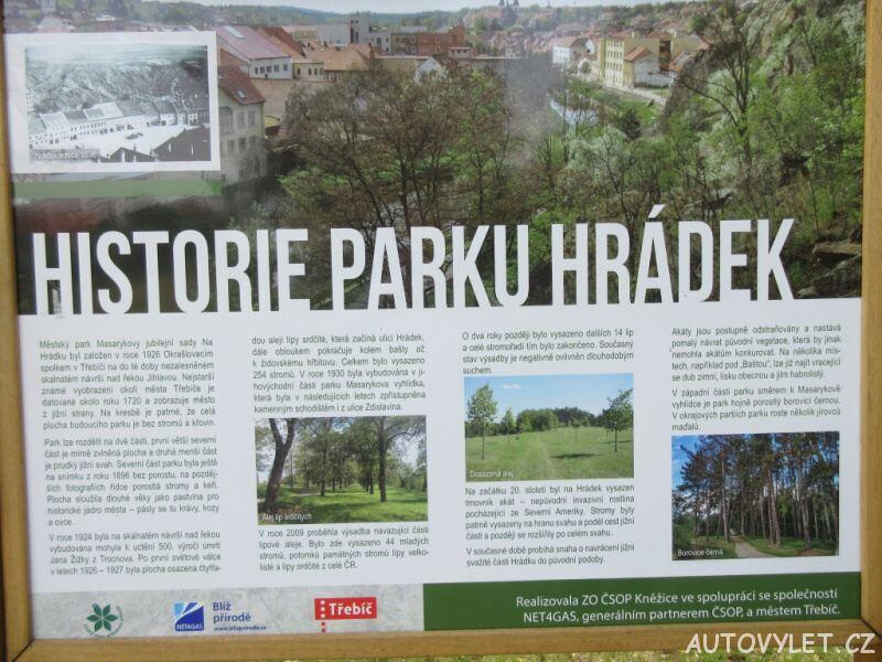 Městský park Třebíč
