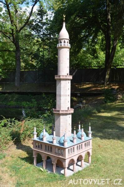 Minaret v Lednici - Boheminium Park Mariánské Lázně