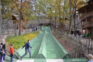 mirakulum milovice zábavní park - klouzačka