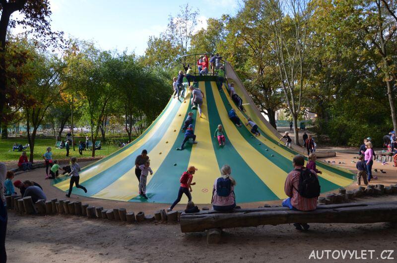 mirakulum milovice zábavní park - klouzačka 2