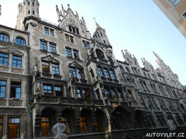 Mnichov Německo - centrum města