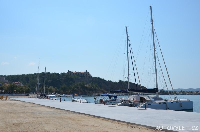 Molo Limenaria Thassos Řecko