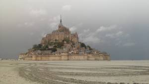 Mont Saint Michel Bretaň Francie