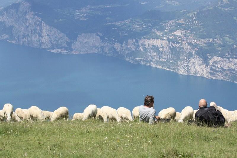 Monte Bald Lago di Garda Itálie