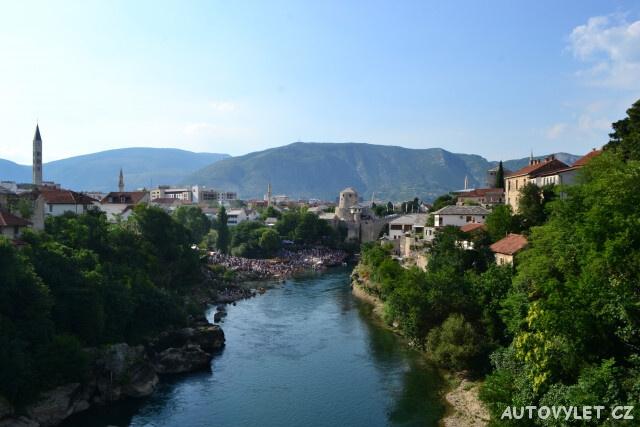 Mostar Černá hora stopem 2