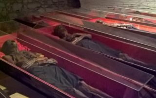 Mumie v Klatovech - katakomby