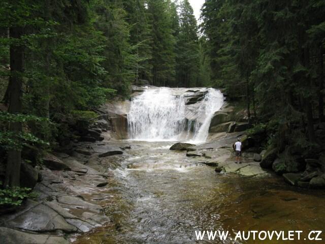 mumlavské vodopády harrachov krkonoše 1