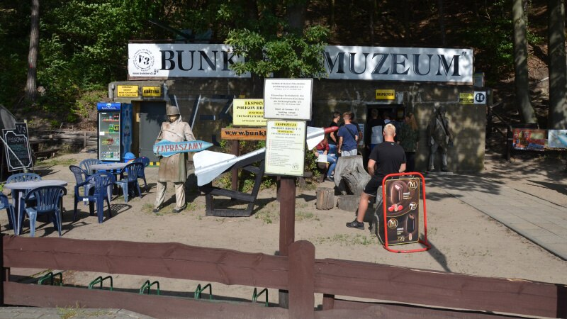 Muzeum bunkier V3 - Mezizdroje Polsko