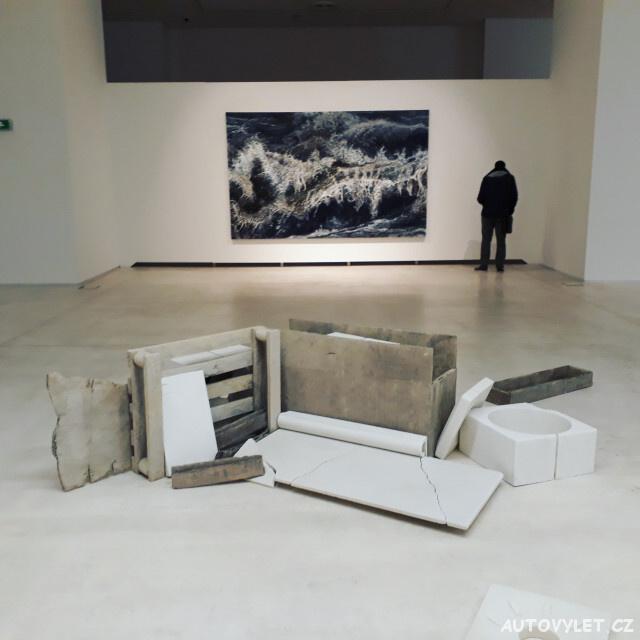 Muzeum moderního umění Atény Řecko