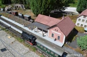 Muzeum železnice Lužná - Boheminium Park Mariánské Lázně
