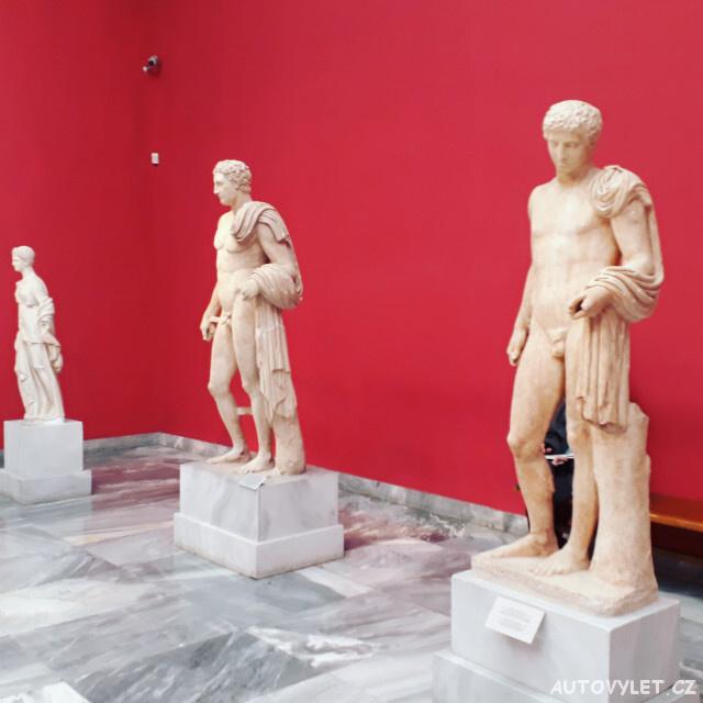 Národní archeologické muzeum Atény Řecko