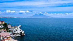 Neapol Itálie - sopka Vesuv