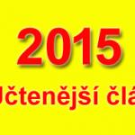10 nejčtenějších článků v roce 2015