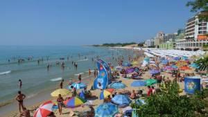 nesebar bulharsko písečná pláž