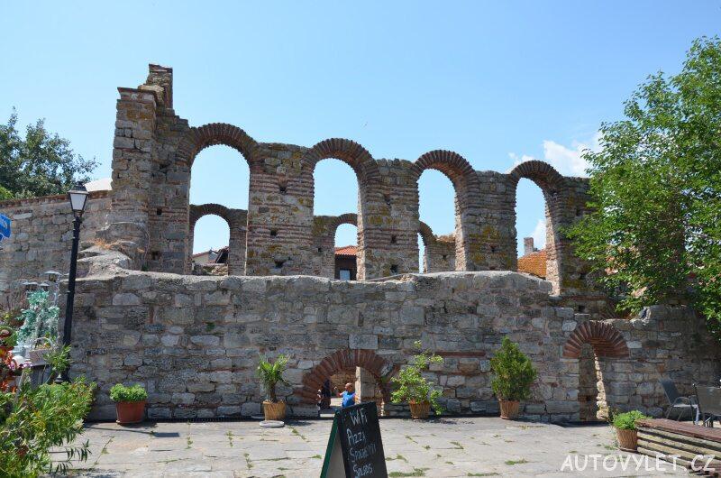 Nesebar město Bulharsko