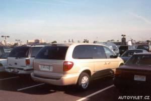 New Jersey letiště - Dodge Caravan