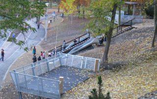 nový městský park v ústí nad labem