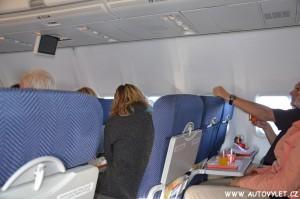 Občertsvení v letadle