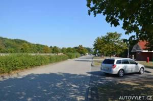 Odpočívadlo v Německu na dálnici
