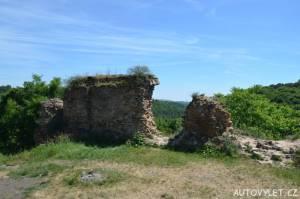 Opárno zřícenina hradu 2