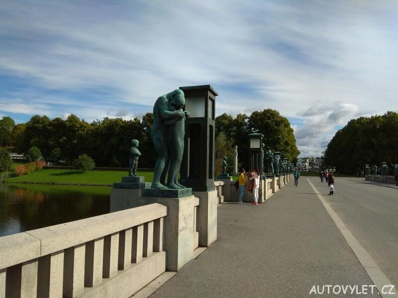 Oslo Norsko - Frognerpark 2