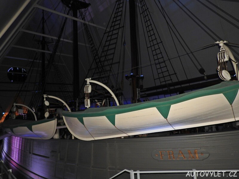 Oslo Norsko - loď Fram
