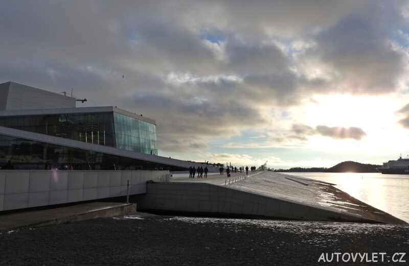 Oslo Norsko - operní dům