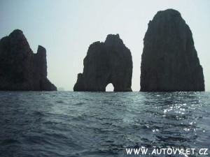Ostrov Capri Itálie 2