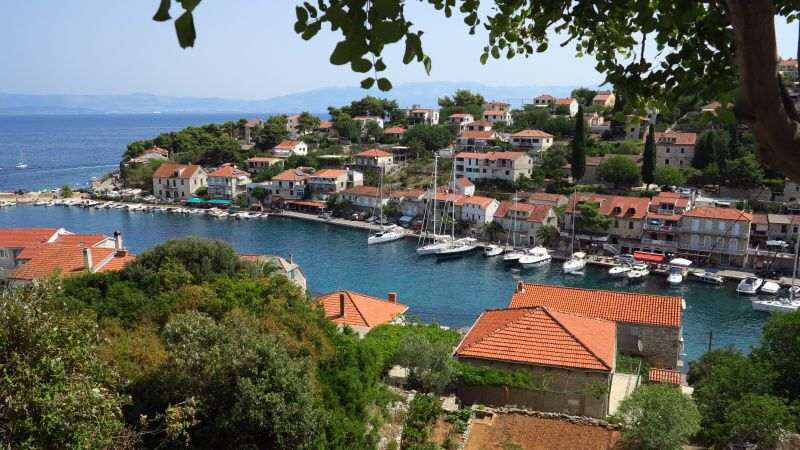 Ostrov Šolta Chorvatsko