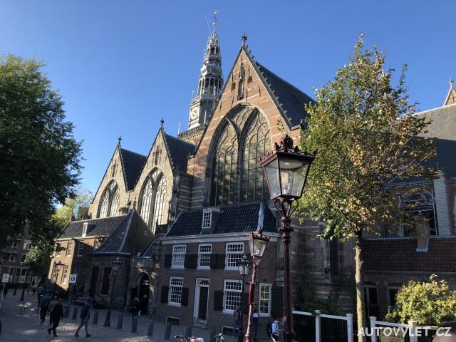 Oude Kerk - Amsterdam Holandsko