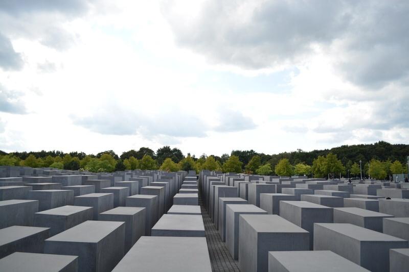 Židovský památník obětem holocaustu - Berlin Německo