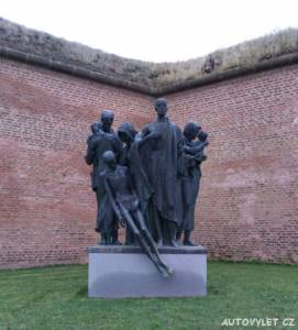 Památník Terezín Malá pevnost - koncentrační tábor 3