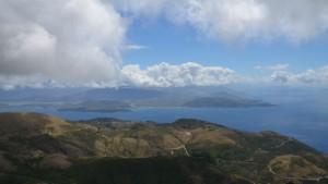 Pantocrator hora v Recku na Korfu