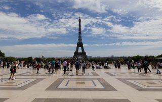 Paříž Eiffelovka