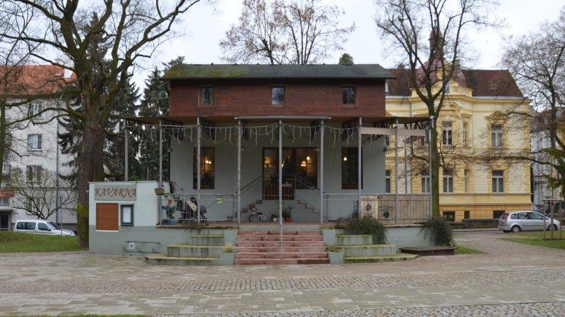 park cafe kavárna litoměřice