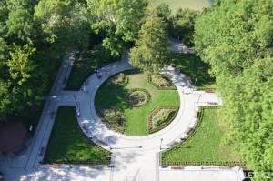 Park pod majákem v Niechorze