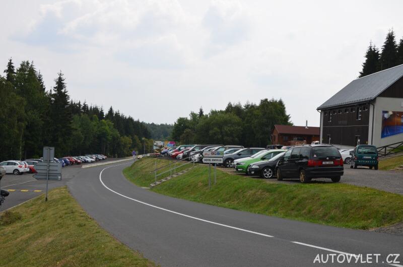 Parkoviště Klíny - Krušné hory