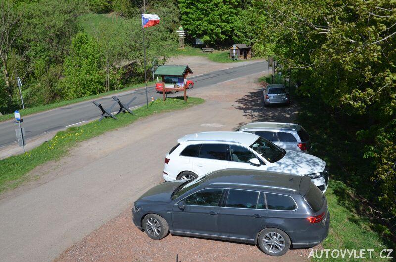 Parkoviště u rozhledny Stachelberg