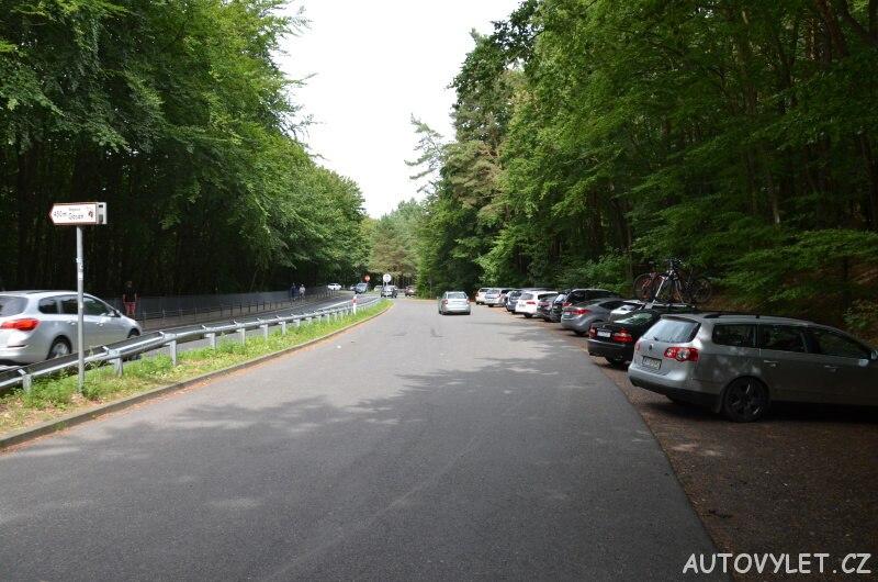 Parkoviště - vyhlídka Gosan Mezizdroje Polsko