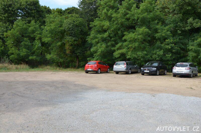 Parkoviště - vyhlídka Lubin Polsko