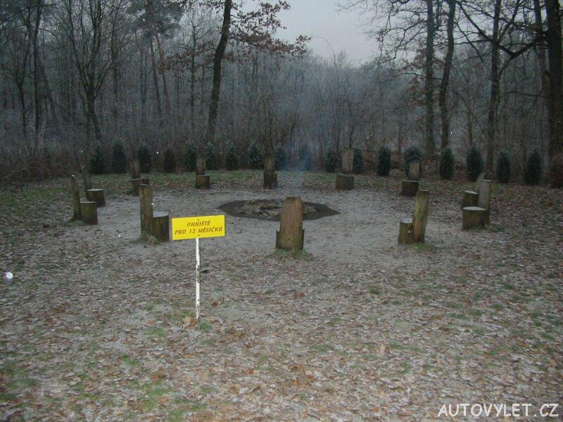 Perníková chaloupka - Ráby - Pardubice - ohniště