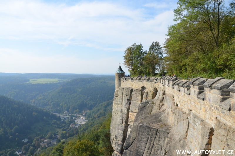 pevnost koenigstein saské švýcarsko