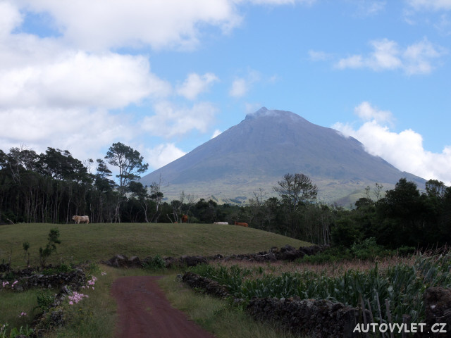 Pico pohled na horu - Azorské ostrovy - Azory dovolená