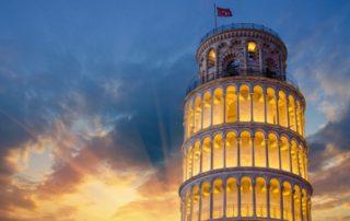 Šikmá věž v Pise - Itálie