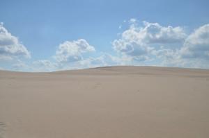 písečné duny polská sahara 2