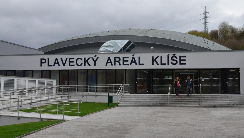 plavecký areál klíše Ústí nad Labem
